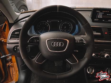 Audi Q3. Подогрев руля _3