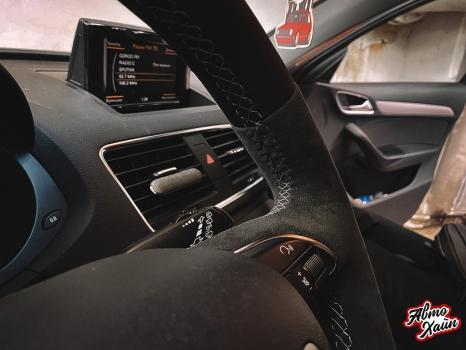 Audi Q3. Подогрев руля _4