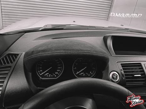 BMW 1. Перетяжка элементов салона_2