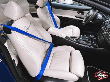 BMW 3 Е92. Замена ремней безопасности_2