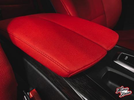 BMW X5. Перетяжка салона_3
