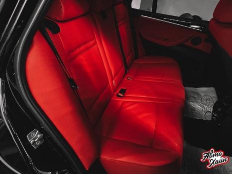 BMW X5. Перетяжка салона_5