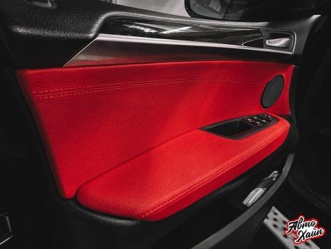 BMW X5. Перетяжка салона_6