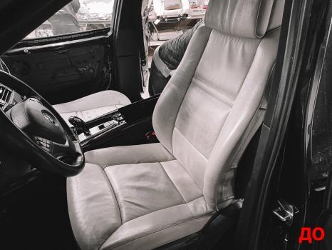 BMW X5. Перетяжка салона_8