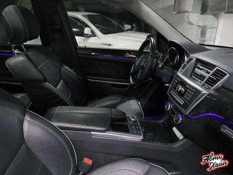 Mercedes-Benz GL. Установка подсветки салона_5