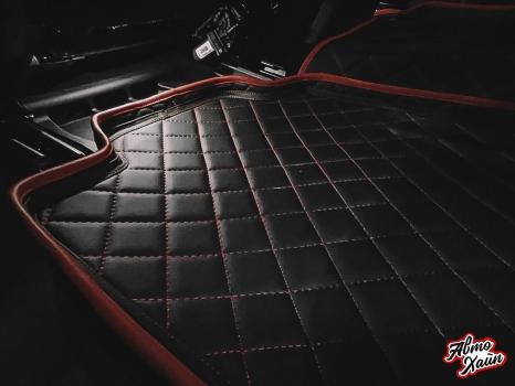 Mercedes-Benz GLE. 3d коврики_5