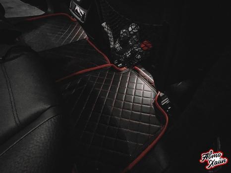 Mercedes-Benz GLE. 3d коврики_6