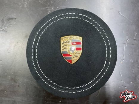 Porsche Cayenne. Перетяжка руля_4