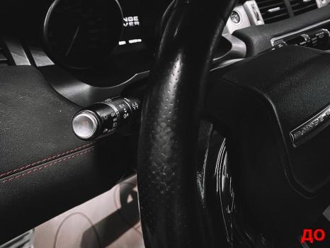 Range Rover Evoque. Перетяжка руля, реставрация сиденья_2