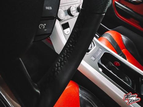 Range Rover Evoque. Перетяжка руля, реставрация сиденья_4
