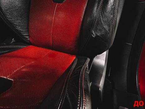 Range Rover Evoque. Перетяжка руля, реставрация сиденья_5