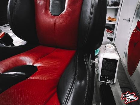 Range Rover Evoque. Перетяжка руля, реставрация сиденья_6