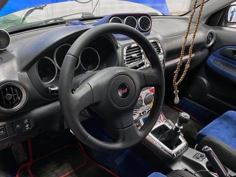 Subaru Impreza WRX STI. Руль_2