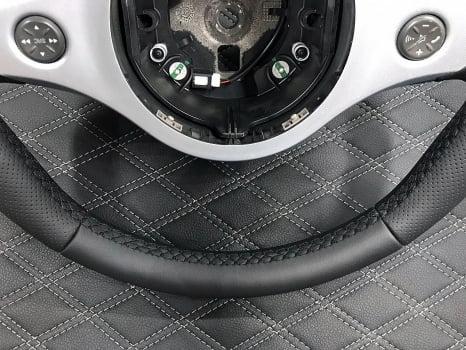 Alfa Romeo. Перетяжка  руля _4