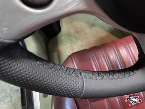 Alfa Romeo Spider . Перетяжка руля_4
