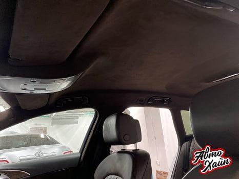 Audi A6 Wagon. Перетяжка потолка_5