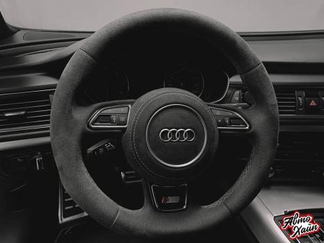 Audi A7, Перетяжка Airbag_2