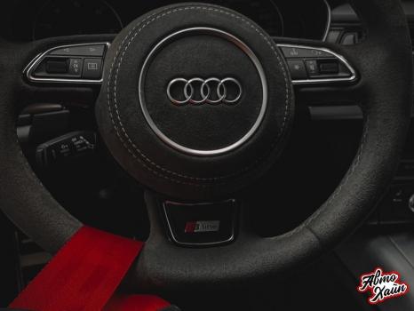 Audi A7, Перетяжка Airbag_3