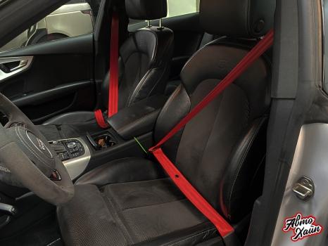 Audi A7, Перетяжка Airbag_6
