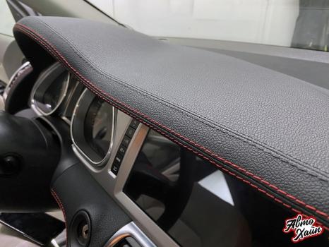 Audi Q7. Перетяжка торпедо _2