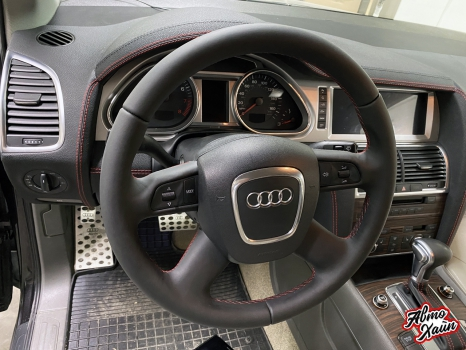 Audi Q7. Перетяжка торпедо _3