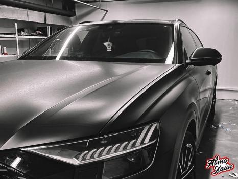 Audi Q8. Оклейка кузова виниловой пленкой_2
