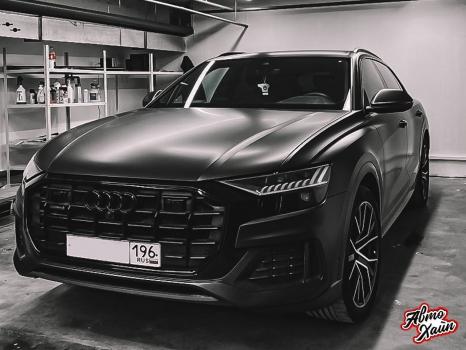 Audi Q8. Оклейка кузова виниловой пленкой_4