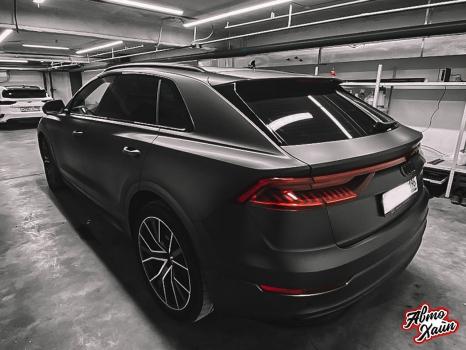Audi Q8. Оклейка кузова виниловой пленкой_6
