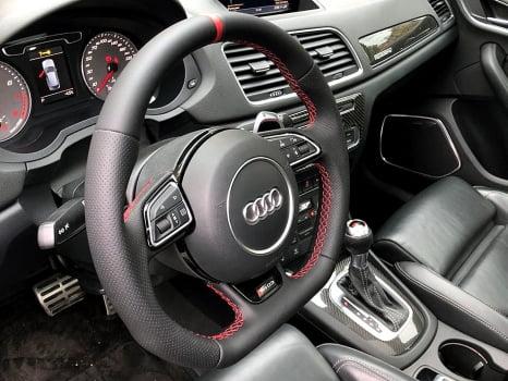 Audi RS Q3. Перетяжка руля_3