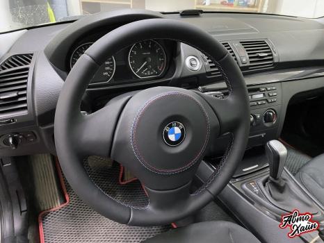 BMW 1 перетяжка руля_2