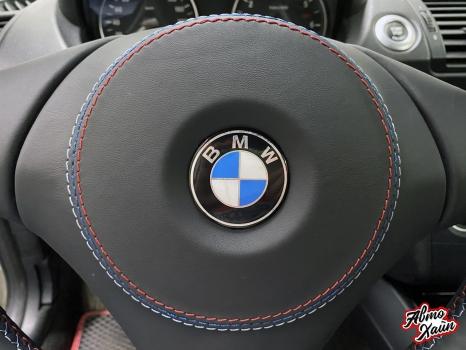 BMW 1 перетяжка руля_3
