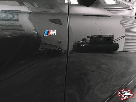 BMW 3. Полировка и керамика_5