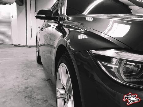 BMW 3. Полировка и керамика_6
