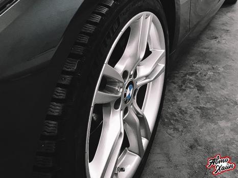 BMW 3. Полировка и керамика_7