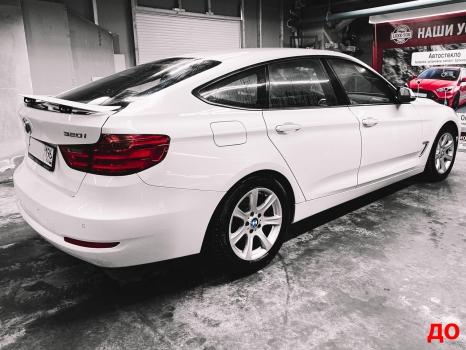 BMW 3 серии GT. Оклейка кузова пленкой _5