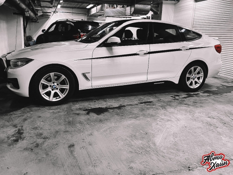 BMW 3 серии GT. Оклейка кузова пленкой _6