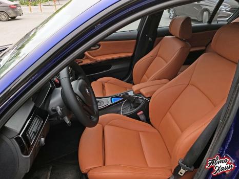 BMW 3 серии E90. Перетяжка салона_2