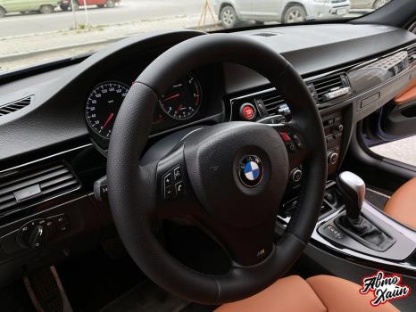 BMW 3 серии E90. Перетяжка салона_3