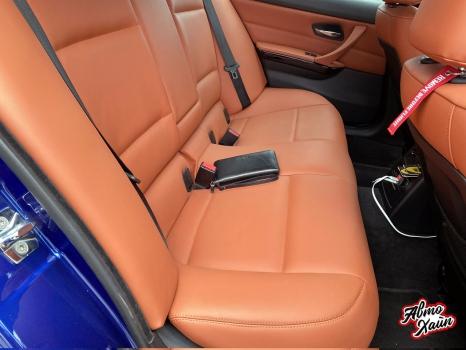 BMW 3 серии E90. Перетяжка салона_5