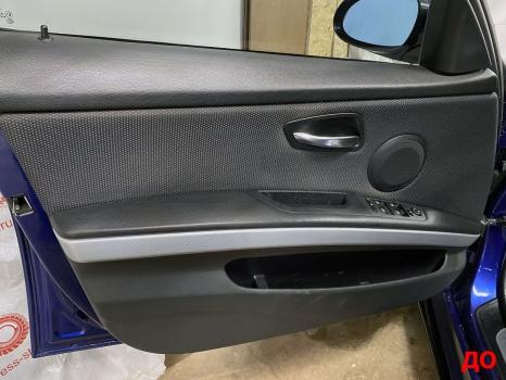 BMW 3 серии E90. Перетяжка салона_9