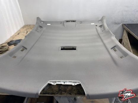 BMW 3 F30. Перетяжка и шумоизоляция потолка_4