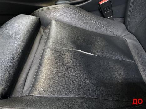 BMW 3 F30. Перетяжка и шумоизоляция потолка_9