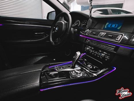 BMW 5 серии F10. Керамическое покрытие, антигравийная защита_1