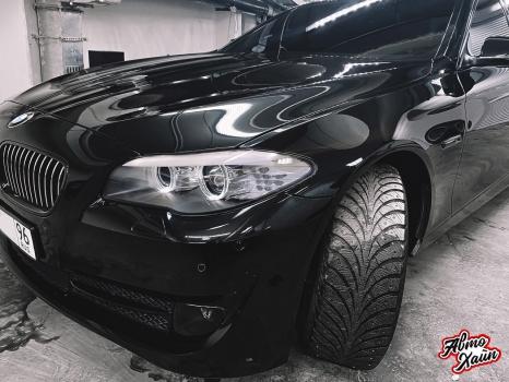 BMW 5 серии F10. Керамическое покрытие, антигравийная защита_2