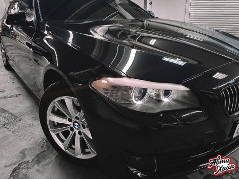BMW 5 серии F10. Керамическое покрытие, антигравийная защита_6