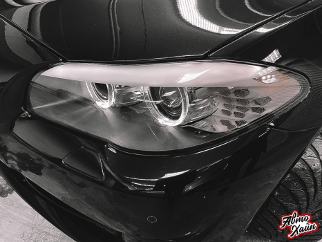 BMW 5 серии F10. Керамическое покрытие, антигравийная защита_7