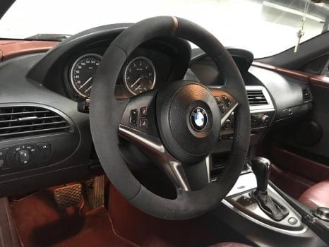 BMW 6. Перетяжка руля_4