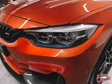 BMW M4. Полировка, керамика_4
