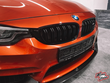 BMW M4. Полировка, керамика_5