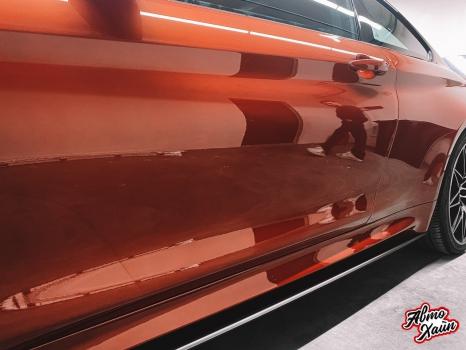 BMW M4. Полировка, керамика_6